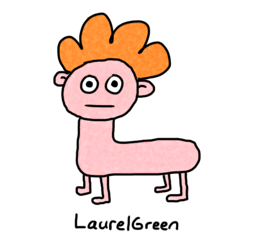 a drawing of a naked dog boy