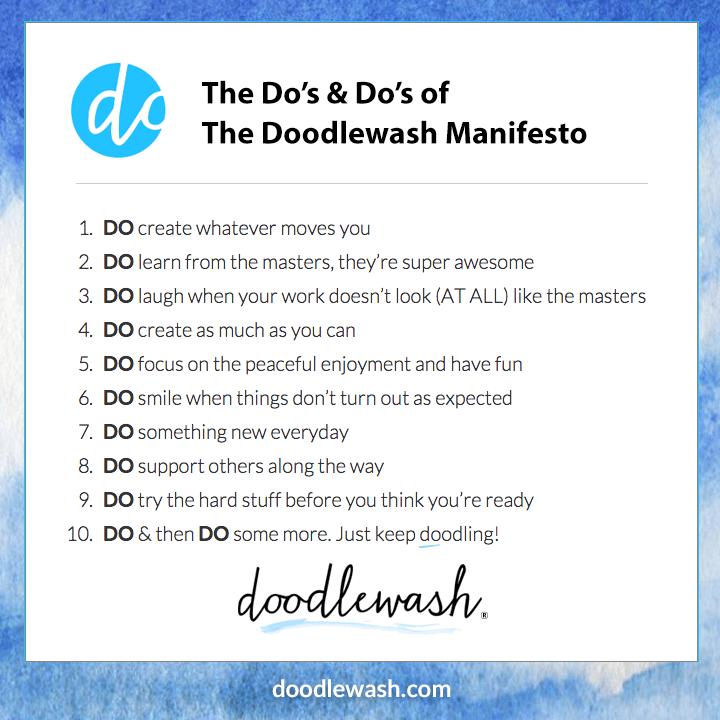 The Do's & Do's of The Doodlewash Manifesto