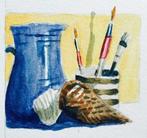 Watercolor Sketching Example 3