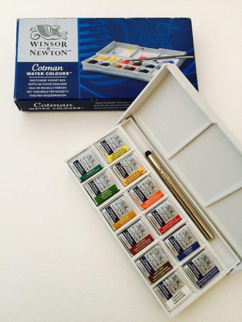 Winsor & Newton Cotman Watercolor Box