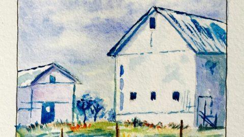 Watercolor Sketching Example 1