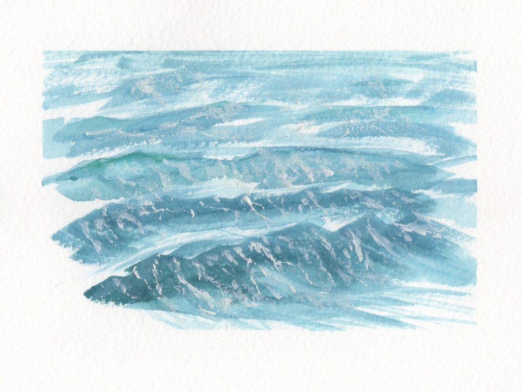 Painting Waves In Watercolor Doodlewash