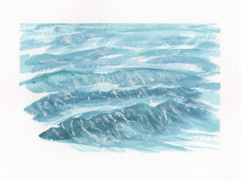 Painting Waves In Watercolor Doodlewash