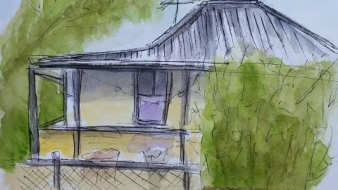 Rottnest Island House Urban Sketching