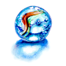 World Watercolor Group #WorldWatercolorGroup Marble world