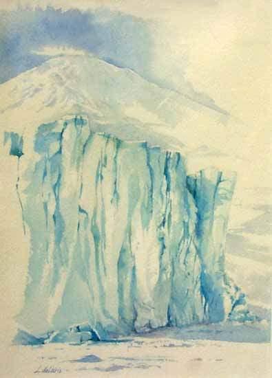 Barne Glacier VII by Lucia deLeiris