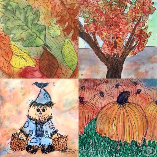 Eileen McKenna Fall Doodlewashes