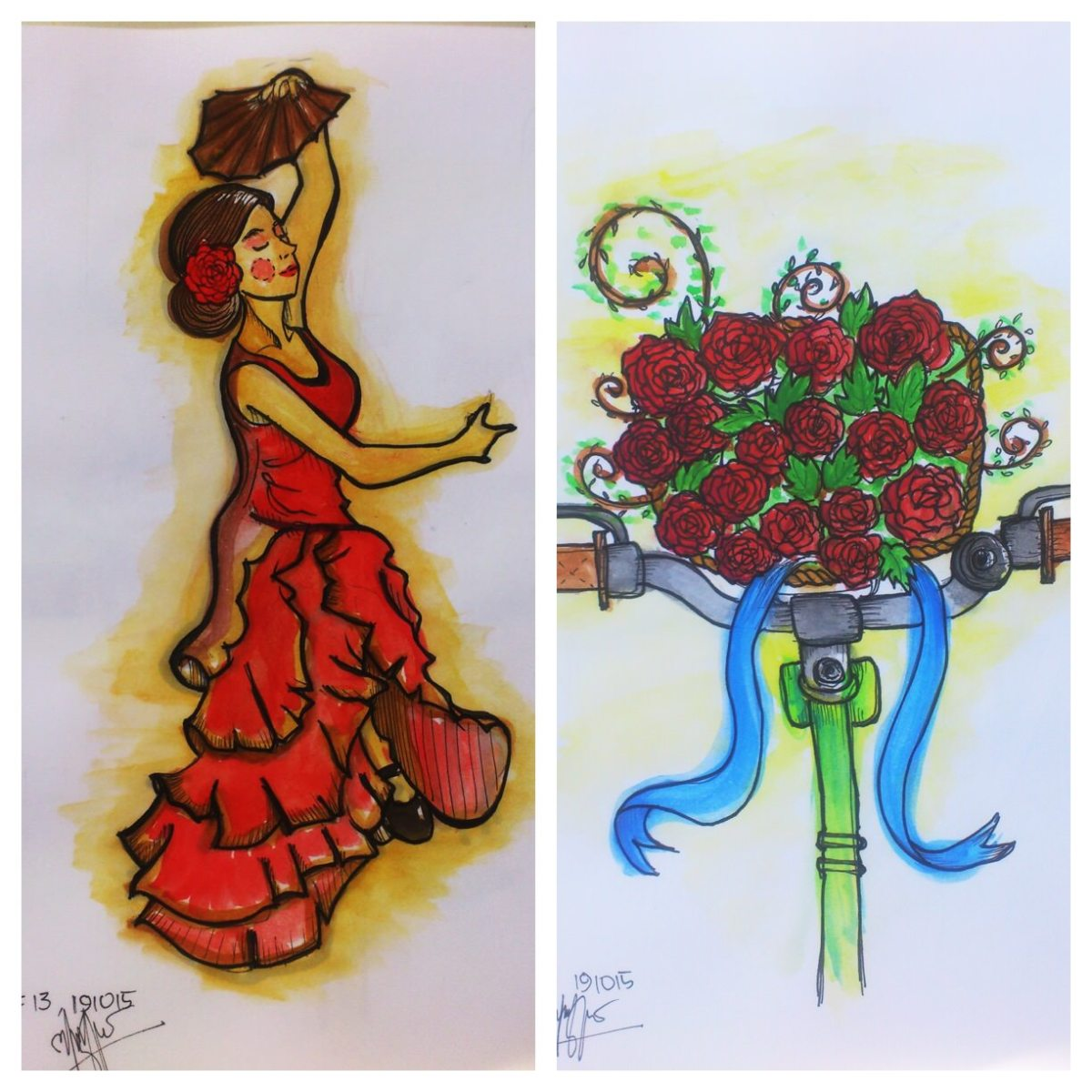 Doodlewashes by Ajeng Setyo Wardhani