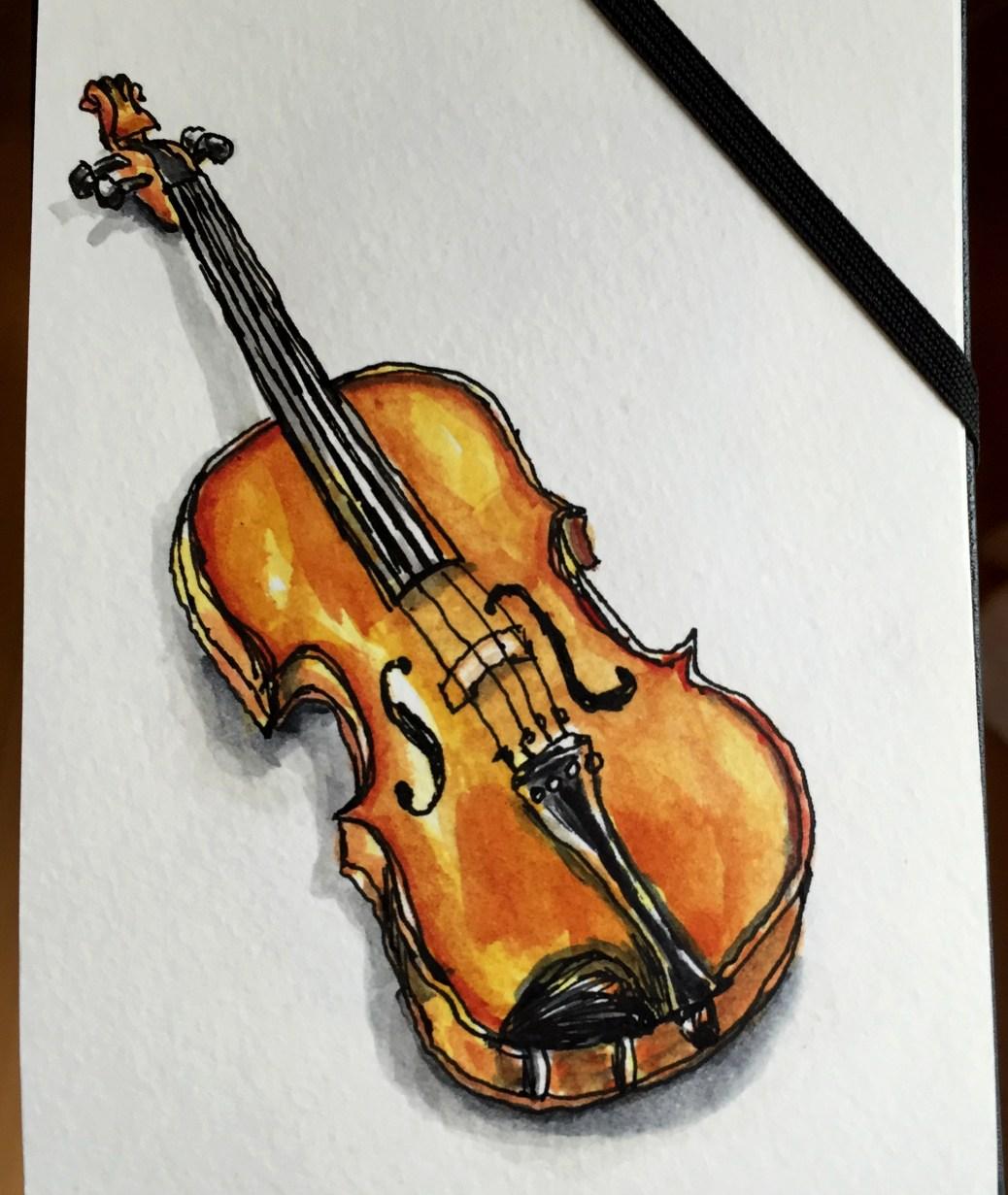 Violin by Charlie O'Shields