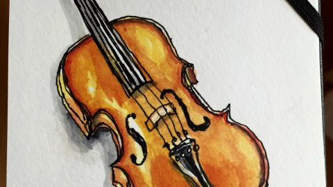 Violin by Charlie O'Shields