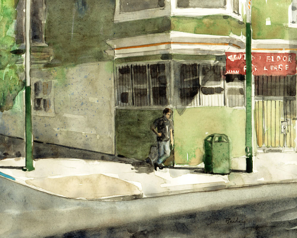 A Corner on Haight by Brian Bailey