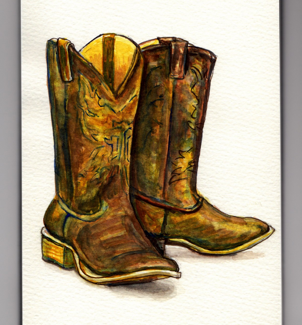 Dancing Boots by Charlie O'Shields