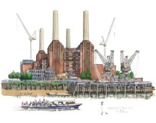 Battersea, England by Liam O'Farrell - Doodlewash