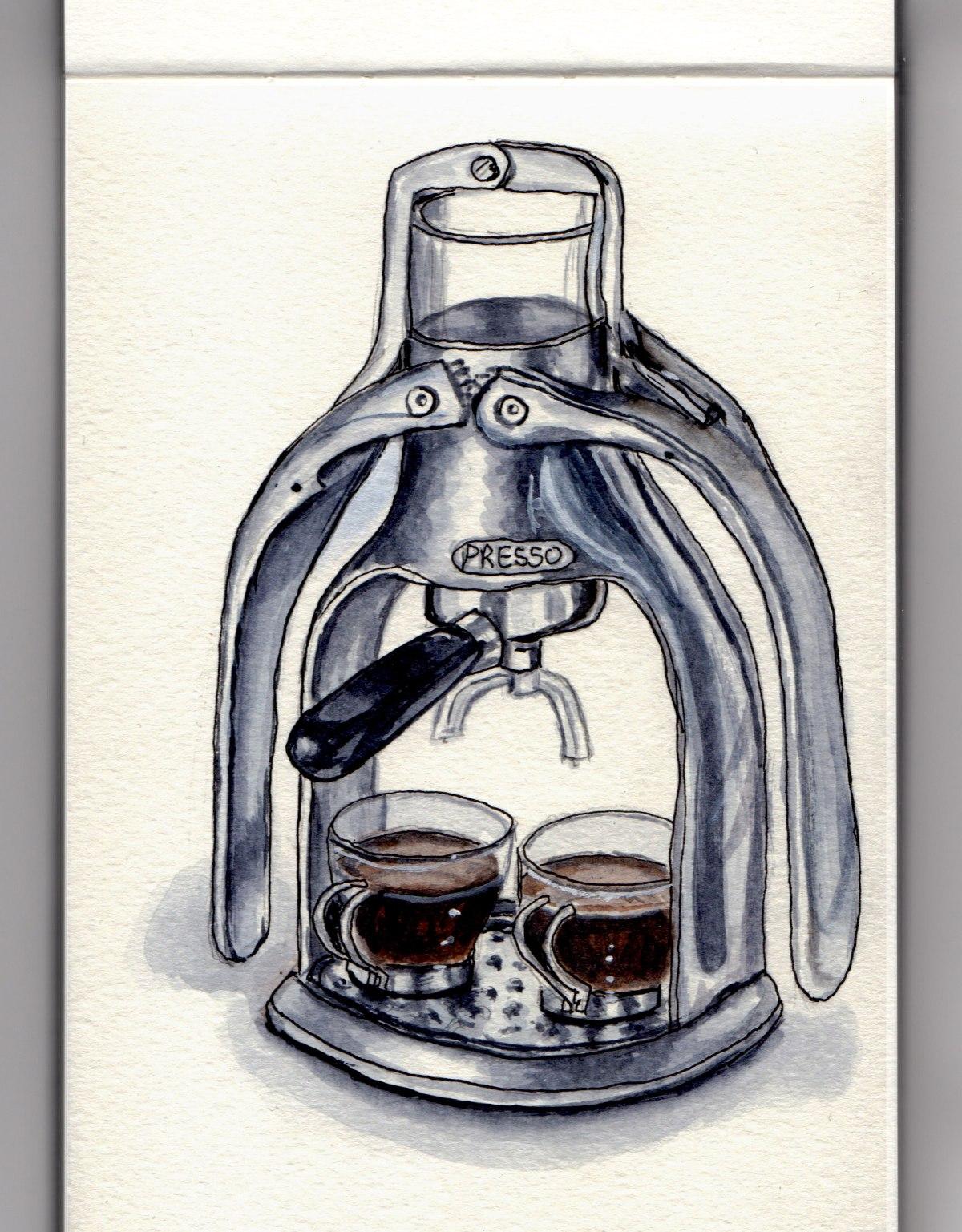 National Espresso Day - Presso Espresso Machine