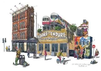 Tube Illustration by Liam O'Farrell - Doodlewash