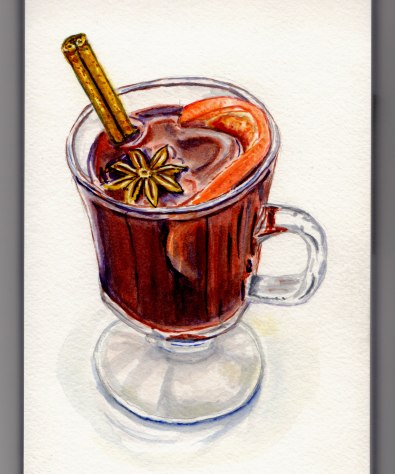Mulled Wine Doodlewash by Charlie O'Shields