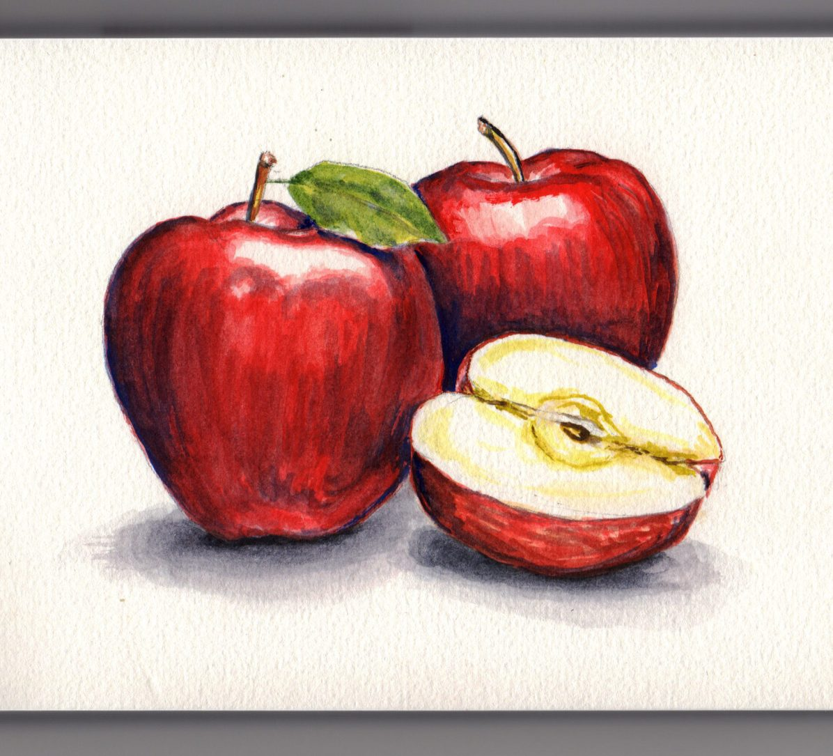 Apples Doodlewash by Charlie O'Shields