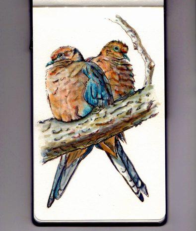 Christmas Doves