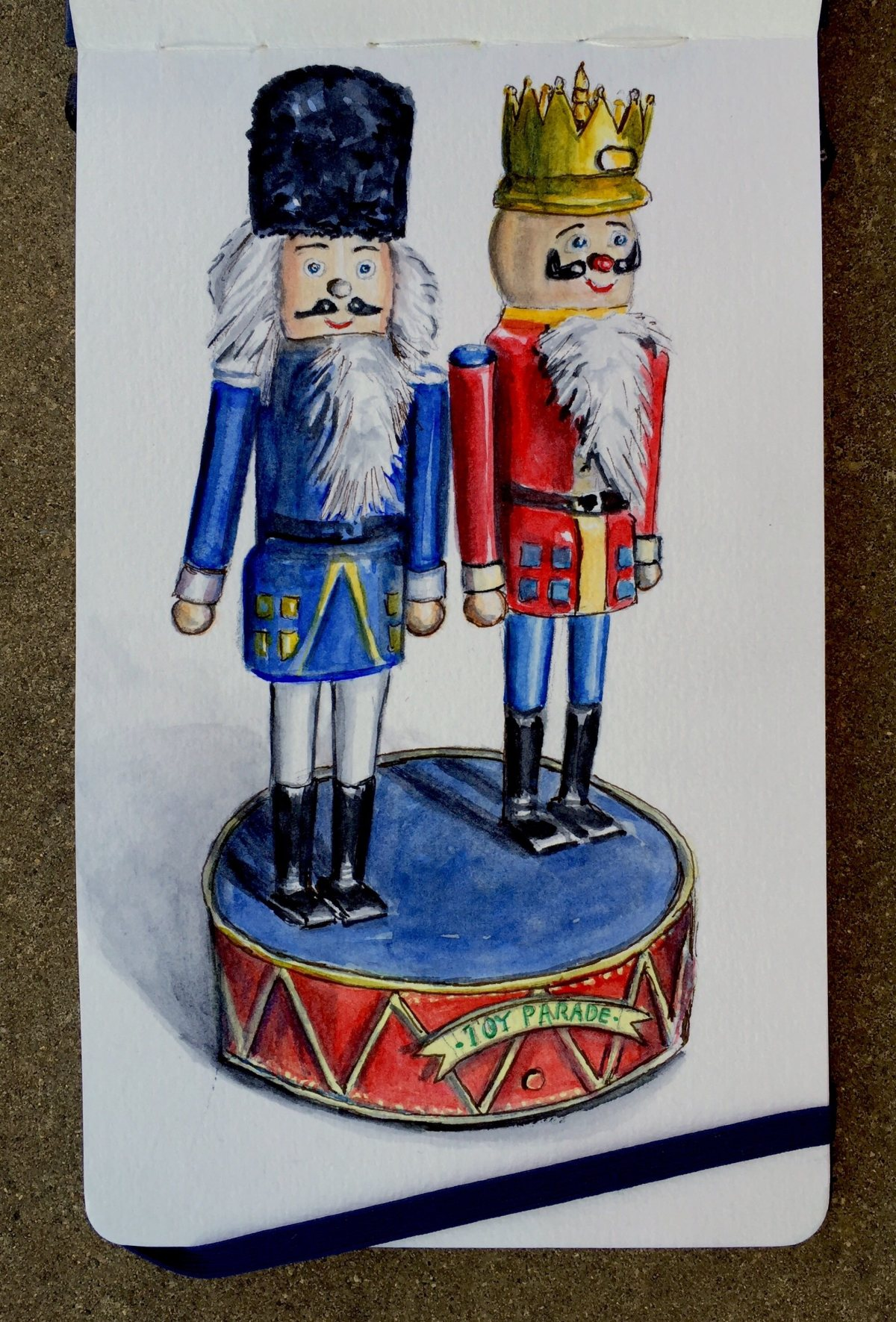 The Nutcrackers by Charlie O'Shields - Doodlewash