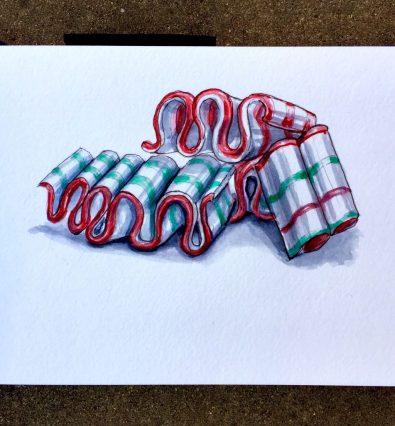 Day 7 - Ribbon Candy