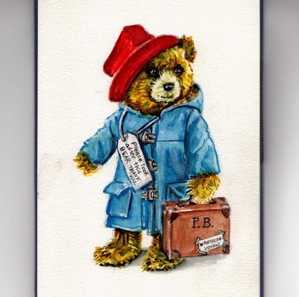 Paddington Bear Doodlewash