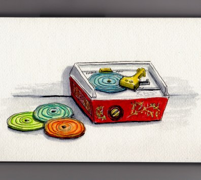 Fisher Price Record Player Doodlewash