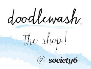 Doodlewash Shop on Society6