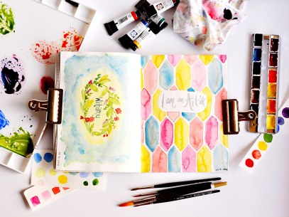 Doodlewash - watercolor sketcbook and art supplies by Micah Bremner
