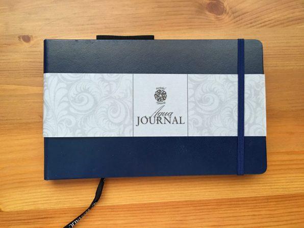 Pentalic Aqua Journal 5 x 8 inch closed