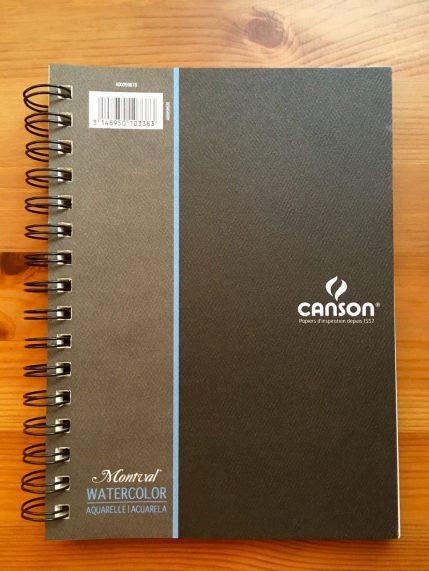 Canson Montval Watertercolor book