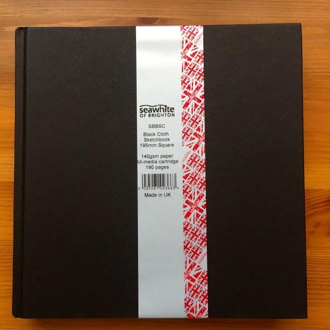 Seawhite of Brighton sketchbook