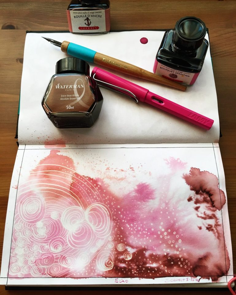 stillman and birn Epsilon series sketchbook watercolor journal