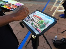 Keni Arts painting En Plein Air