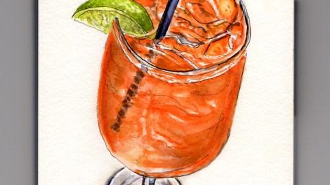 Day 3 Enjoying A Staycation With An Orange Aperol Prosseco Soda Spritz