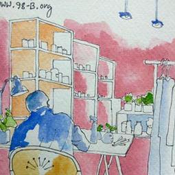 #Doodlewash - Watercolor Sketch by Abel Pabres - shop - #WorldWatercolorGroup