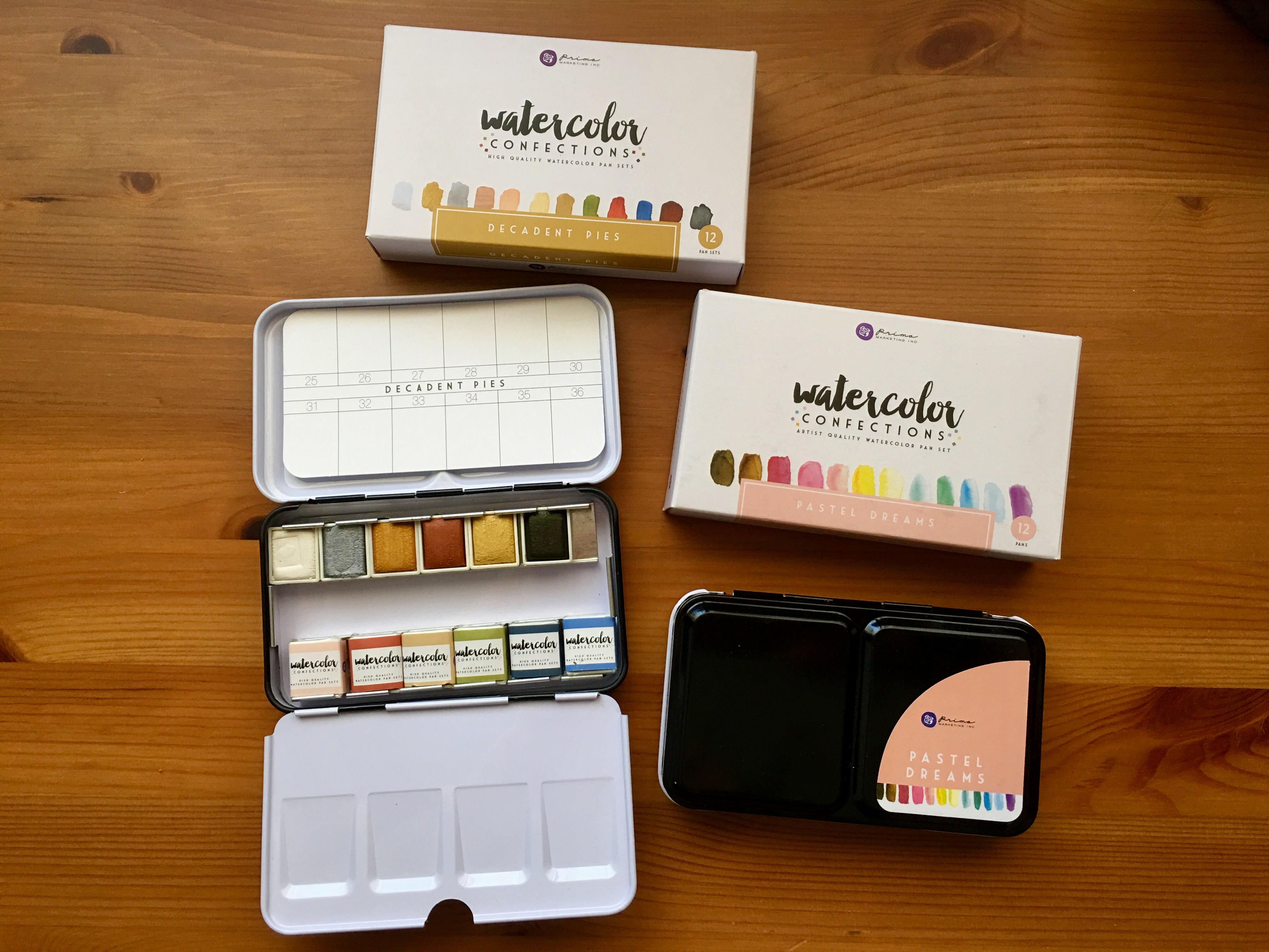 Prima Marketing Prima Watercolor Confections Watercolor Pans 1-The Classics