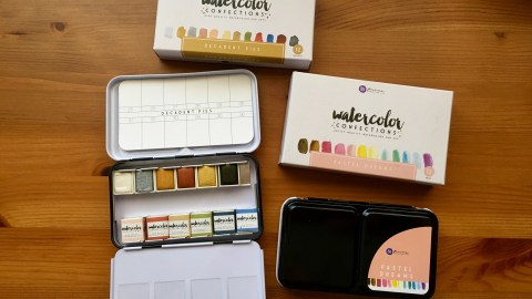 Prima Marketing watercolor confections pastel dreams and decadent pies watercolor pans