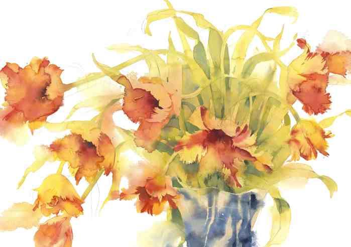 #WorldWatercolorGroup - Watercolor painting by Kate Osborne - #doodlewash