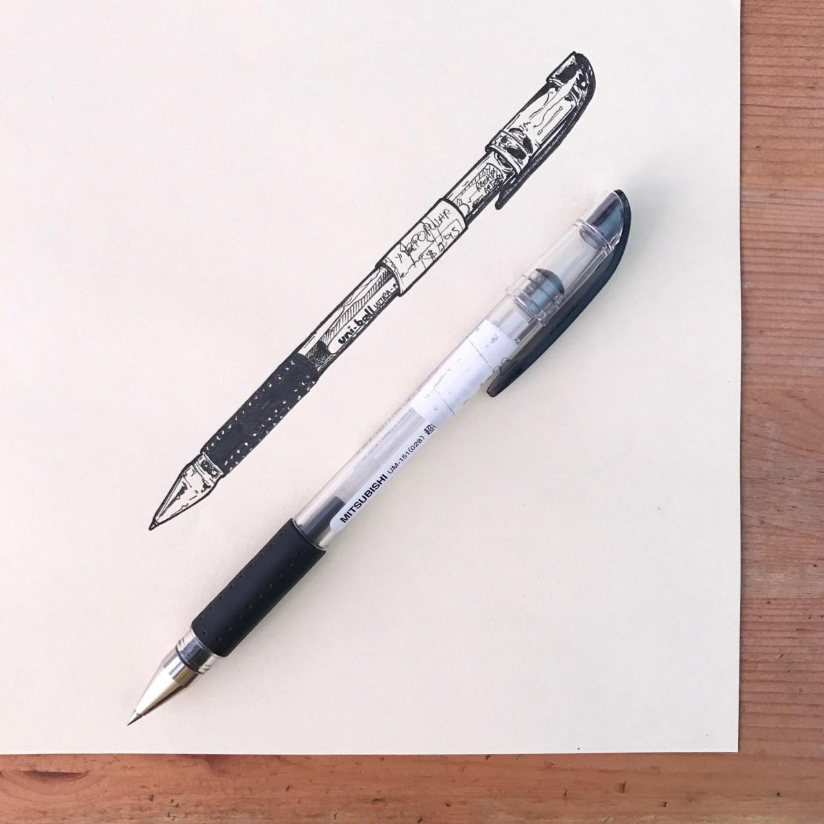 Ink Drawing By Elizabeth Shana - #doodlewash