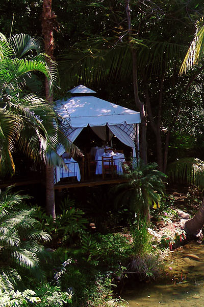 Secluded Dining