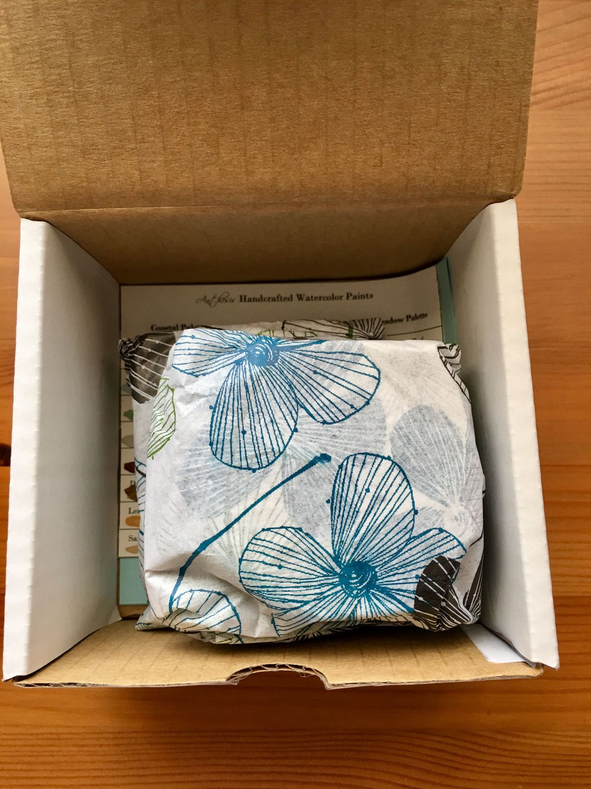Anthesis Arts handcrafted watercolors unboxing