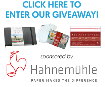 Hahnemühle Watercolor Book Product Giveaway on Doodlewash