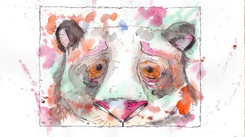 #WorldWatercolorGroup - Watercolor by Elena Anashkina - #doodlewash