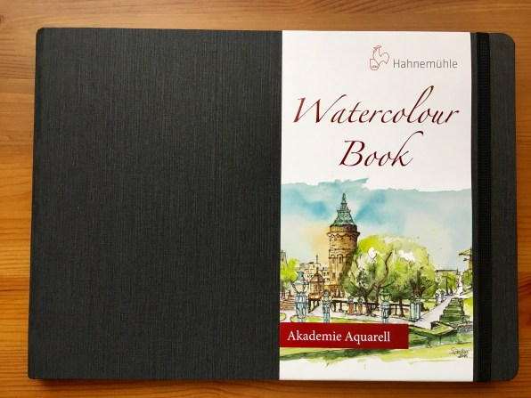 Hahnemühle watercolor book, watercolor journal, sketchbook, Turner watercolor block, Cezanne watercolour block
