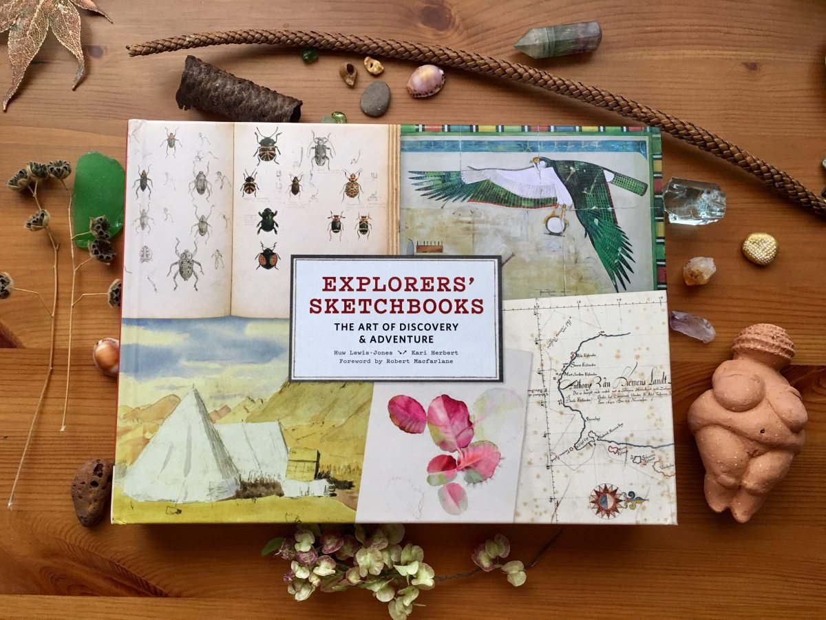 Explorers' Sketchbooks the art of discovery & adventure