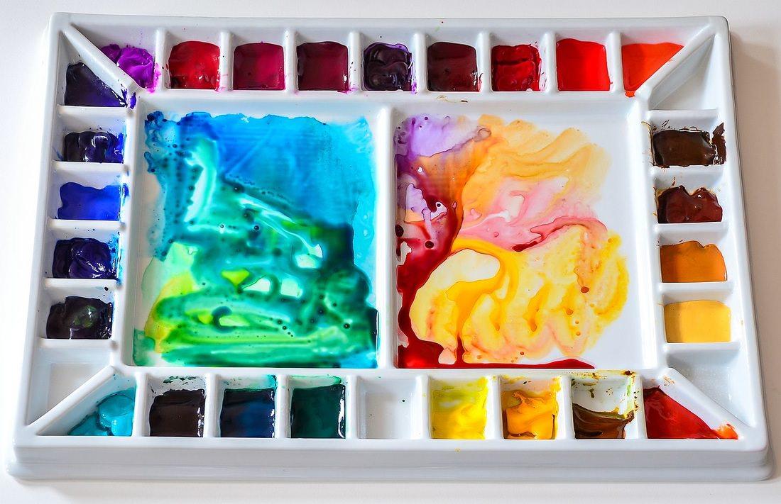 #WorldWatercolorGroup - Watercolor by Krzysztof Kowalski - Big Porcelain Palette - #doodlewash