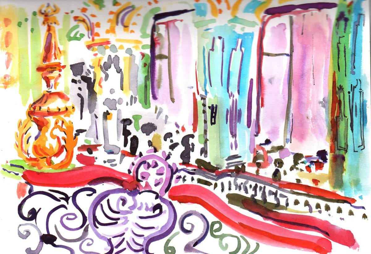 #WorldWatercolorGroup - Watercolour by Tim Cumming - #doodlewash