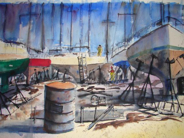 Boat Yard @ Hingham Mass DSC00502 (1) (2015_08_13 04_36_31 UTC)