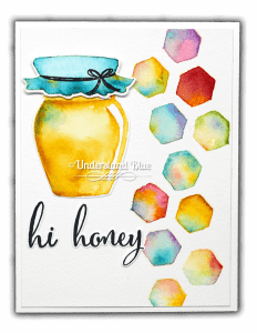 No-line watercolor with Daniel Smith & stamp images from Honey Bee IMG_6227