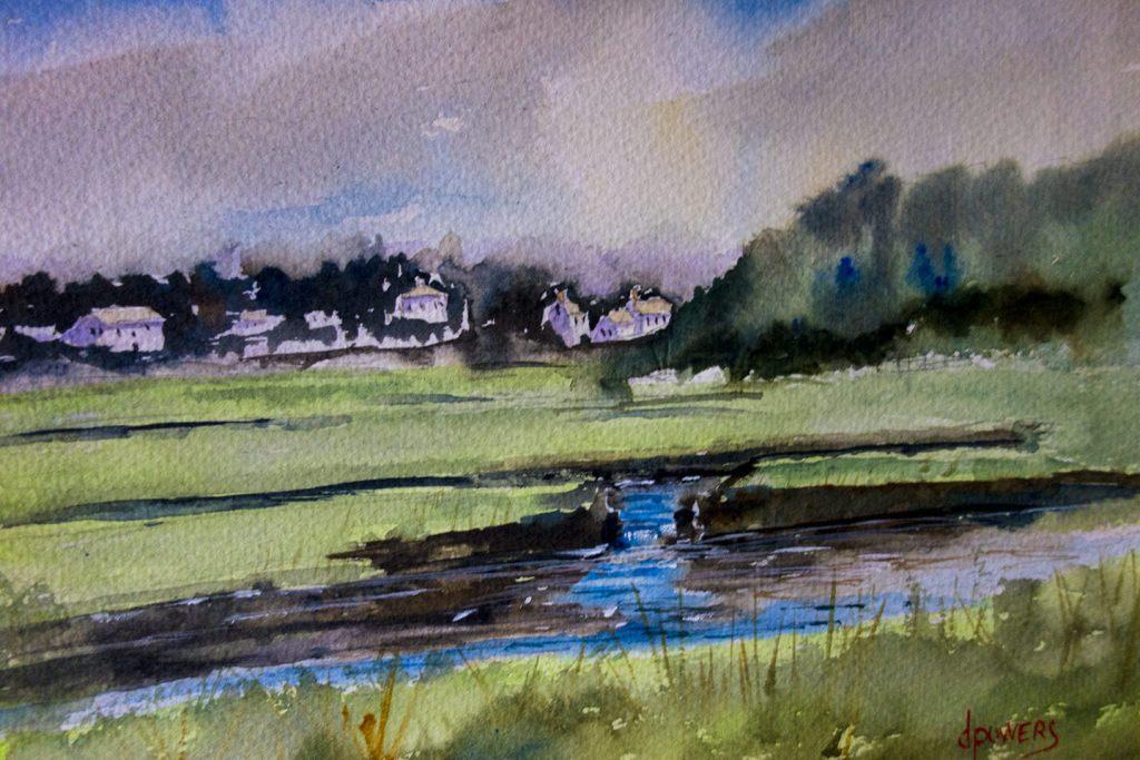A marsh near Barnstable Harbor on Cape Cod Marsh near Barnstable Harbor on Cape Cod